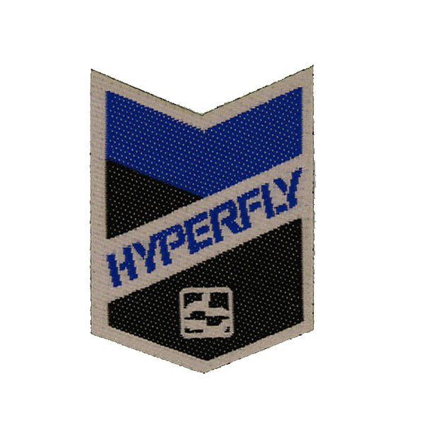 hyperfly patch - die cut