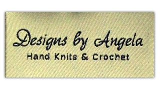 Hand Knits & Crochet Woven Label - Designs by Angela