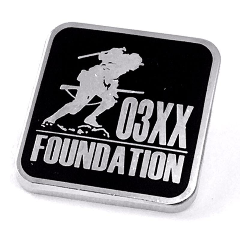 Lapel Pins Support a Veteran's Foundation