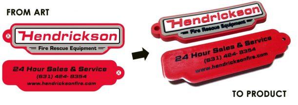 hendrickson-pvc-keychain-process