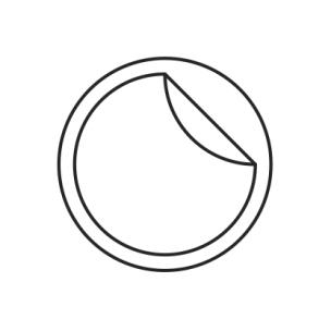 plain backing icon