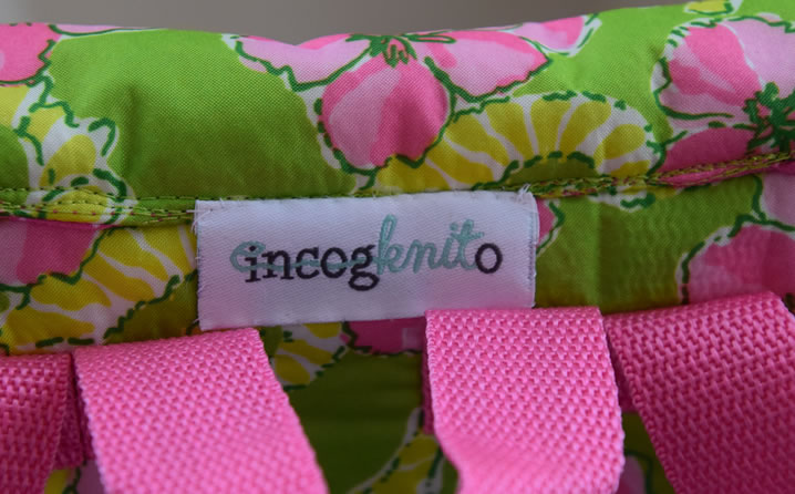 Labels for an Etsy Shop for Little Girls Dresses: Incogknito