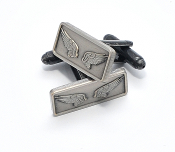 antique silver cufflinks
