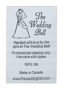 the wedding bell label