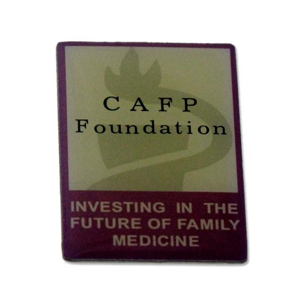 CAFP Foundation Printed Lapel Pin