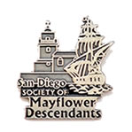 custom antique lapel pins - san diego