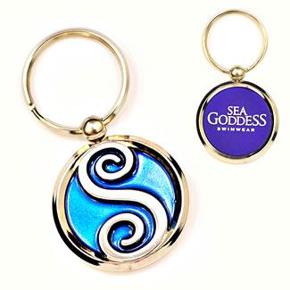 Branded Logo Keychain
