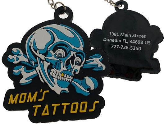 moms-tattoos-customized-pvc-keychain