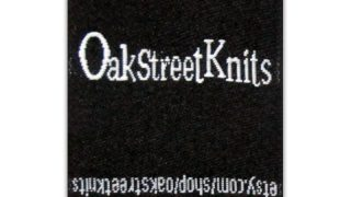 Oak Street Knit Woven Labels