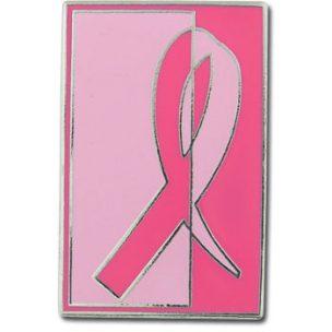 Breast cancer awareness custom pin