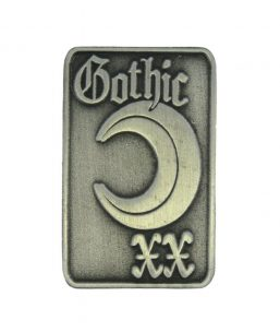 antique lapel pin-gothic