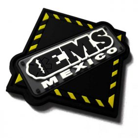 PVC Labels for Backpacks EMS Mexico
