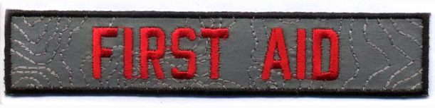 reflective-embroidered-patches-first-aid