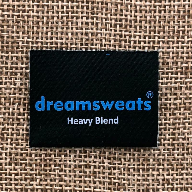 dreamsweats satin custom label