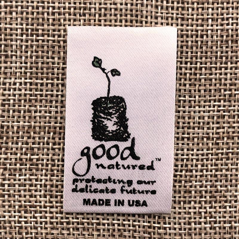 good printed Satin label