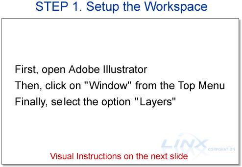 STEP 1. Setup the Workspace