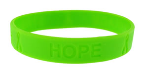 silicone-wristband-debossed-solid-background