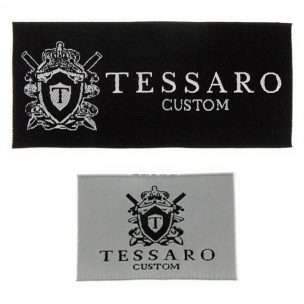 tessaro-custom-suit-label
