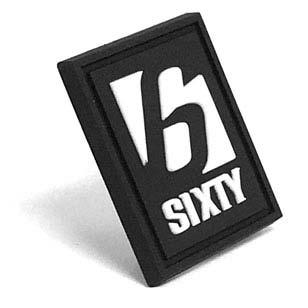 6Sixty Apparel - Tiny PVC Label