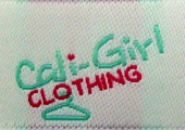 cali girl clothing woven labels