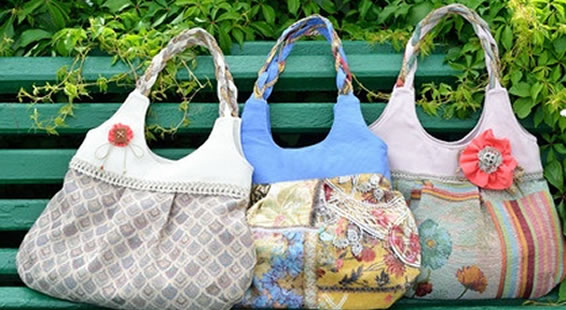 d41ac7228daa No two handbags are alike. Everywhere you look you are seeing custom  creations by crafters and designers.