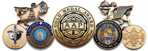 Custom Commemorative Coins and Tokens for Your Awards Program