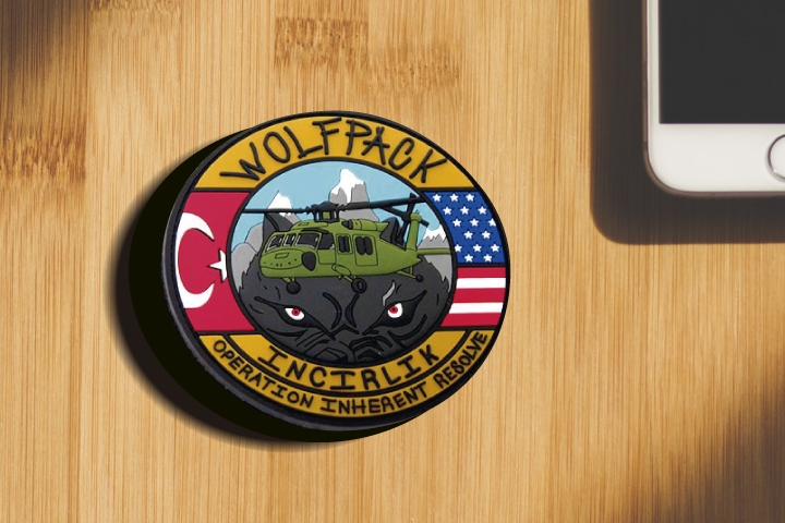 15. Military Unit Velcro Patches for Military Gear