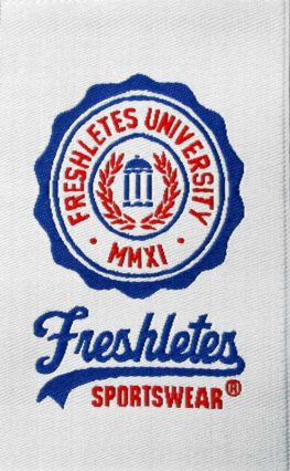 Woven Label Freshletes - University Sportswear