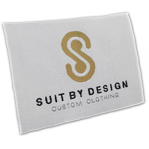 Custom Woven Suit Labels