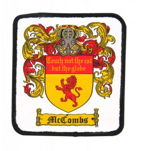 woven patch - mccombs