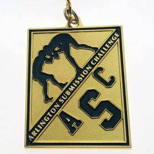 custom sports medal - gold