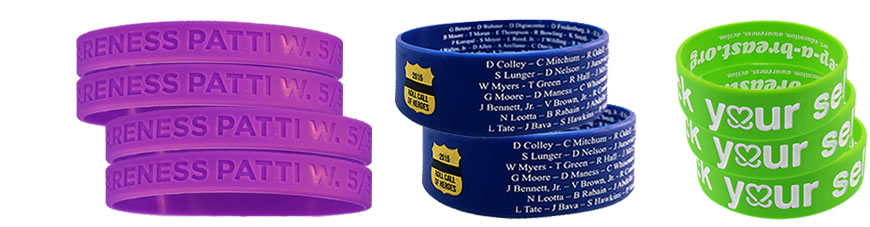 silicone-bracelets-embossed-group