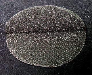 Velcro Backing 2 Sides - Back - Lifted