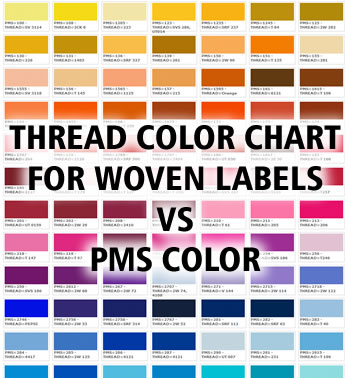 Polyester Satin Thread Colors