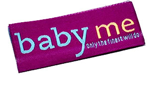 Damask Woven Labels - Professional Look