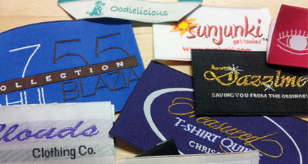 Custom Clothing Labels - Woven Labels, Hang Tags