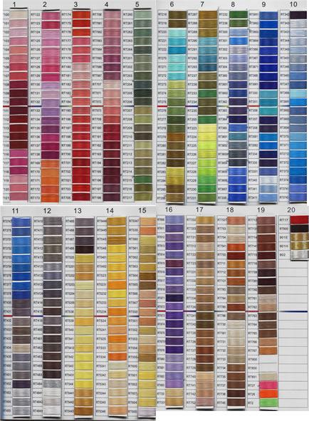 Thread Color Chart