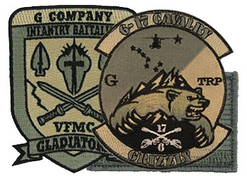 ARMY UNIT ACU PATCHES